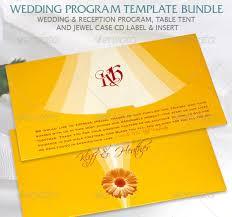 wedding program designs wedding program templates 15 free word pdf psd documents