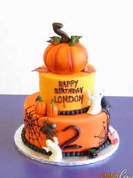 2nd birthday halloween cake cmny cakes