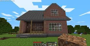 cozy 2 story brick house u2013 minecraft house design
