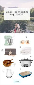 best wedding gift registry zola s top wedding registry gifts for our home