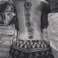 beautiful henna on back best tattoo design ideas