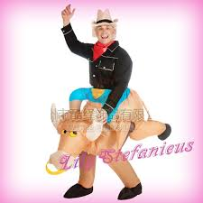 Blow Halloween Costumes Chub Spanish Bull Inflatable Clothing Blow Color