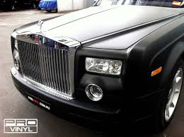 wrapped rolls royce vehicle vinyl wrapping and car paint protection 2