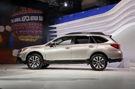 white subaru outback 2015 subaru outback first look motor trend