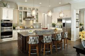 Farmhouse Kitchen Islands by Hanging Lights Over Kitchen Island Kitchen Island Lights Image Of