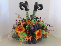 halloween center pieces house decorated for halloween spider web