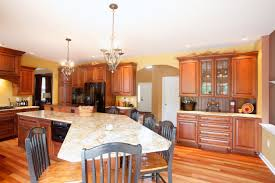 warm and cool colors in kitchen design