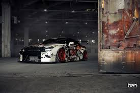 Nissan Gtr Body Kit - an r35 gt r that is looking vindicated with a liberty walk body kit