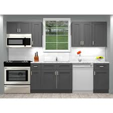 shaker style kitchen cabinets south africa details about cabinets 10 foot run wood kitchen cabinets rta grey shaker elite