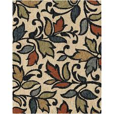 Nature Area Rugs Shop Allen Roth Bressay White Indoor Nature Area Rug Common