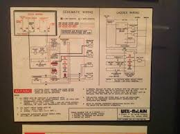 electrical where to connect thermostat c wire to weil mclain he2