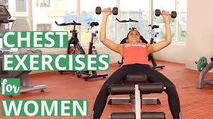 Chest Workouts Without Bench Chest Exercises For Women With Dumbbells Youtube