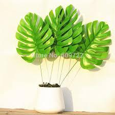 Home Decor Artificial Trees Artificial Palm Leaves Artificial Palm Trees 12pcs 52cm