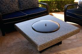 fire table cover rectangle articles with fire sense rectangle fire pit table with cover tag