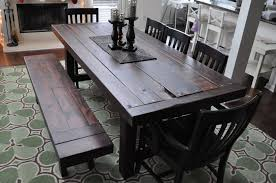 Dining Room Sets Atlanta by The Clayton Dining Table Atlanta Georgia Rustic Trades Furniture