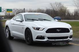Mustang Mach One 2018 Ford Mustang Mach 1 Spied Testing Autoguide Com News