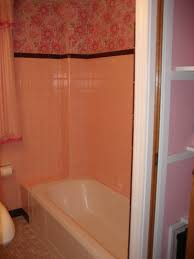 Pink Bathroom Ideas West Pear Avenue No More Pink Bathroom Can You Also See That The