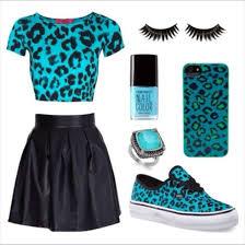 Blue Leopard Print T Shirt Animal Print Blue Shirt Leopard Print Shoes Jewels