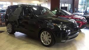 land rover black 2017 farallon black 2017 discovery limited youtube