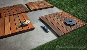 Decking Tiles Installation Ipe Wood Deck Tiles Install - Ipe outdoor furniture