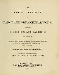 the book of fancy and ornamental work 1860 tons