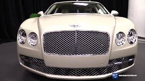 bentley white interior 2016 bentley flying spur w12 exterior and interior walkaround