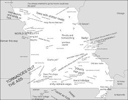 Map Missouri Missouri Usa Stereotype Map 3697x2880 Mapporn