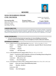 career objective in resume for civil engineer cv civil eng