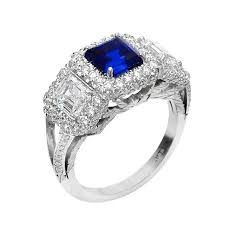 Diamond Sapphire Wedding Ring by Sapphire And Diamond Wedding Rings Wedding Rings