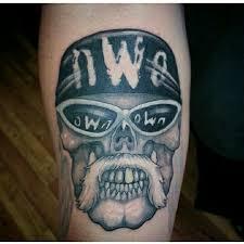 nwo hollywood hulk hogan wwe wrestling tattoos done by patrick