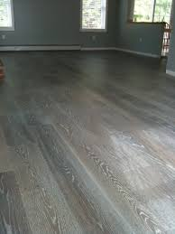 Synthetic Hardwood Floors Grey Hardwood Floors True U0026 Wesson Interior Design Project