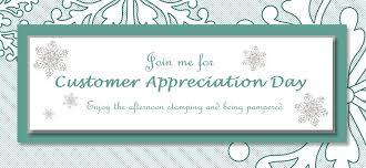 customer appreciation day stamp scrap u0026 create with me