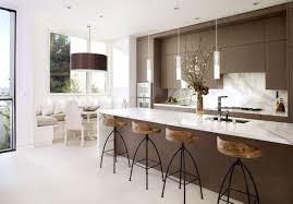 warm nice neutral kitchen design ideas with modern brown kitchen