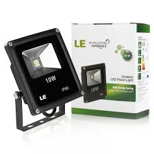 le better lighting experience 10w led flood lights home landscape garden security lighting le