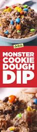 best monster cookie dough dip recipe delish com