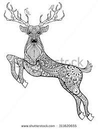 drawn deer color pencil color drawn deer color