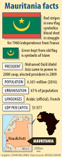 Facts About The Flag Mauritania New Flag Same Old President News Africa M U0026g