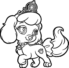 pumpkin pup puppy dog coloring page wecoloringpage