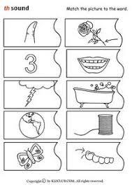 th sound pre k 1st grade worksheet lesson planet