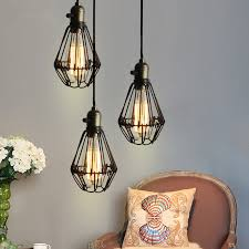 Retro Kitchen Light Fixtures by Find More Pendant Lights Information About Vintage Iron Black
