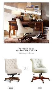 potterybarn tufted desk chair 599 vs amazon linon