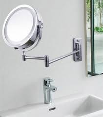 bathroom makeup mirror wall mount lighted shaving mirrors wall mounted hollywood thing