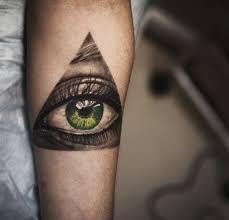 amazing green eye tattoo tattoomagz