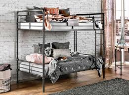 industrial style bunkbed