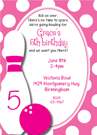 bowling birthday invitations iidaemilia com