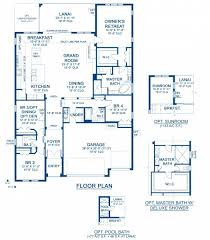 floor plans for large homes biscayne a new home floor plan at the reserve by homes by westbay