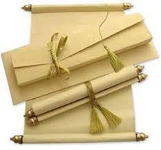 indian wedding invitations scrolls indian wedding cards indian wedding card scroll wedding cards