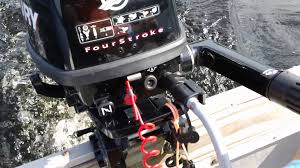 mercury 6hp outboard youtube