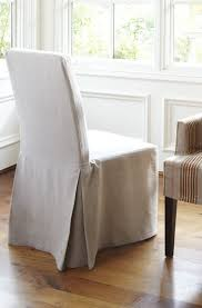 slipcovered dining chair dining chair covers best 25 dining chair slipcovers ideas on