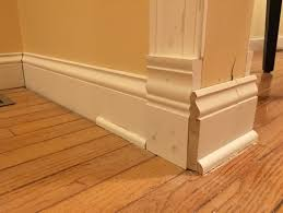 Hardwood Floor Molding Base Molding How Do I Go Around A Corner With An Archway